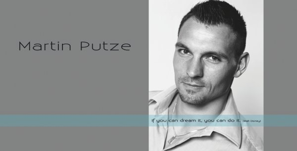 Autogrammkarte Martin Putze